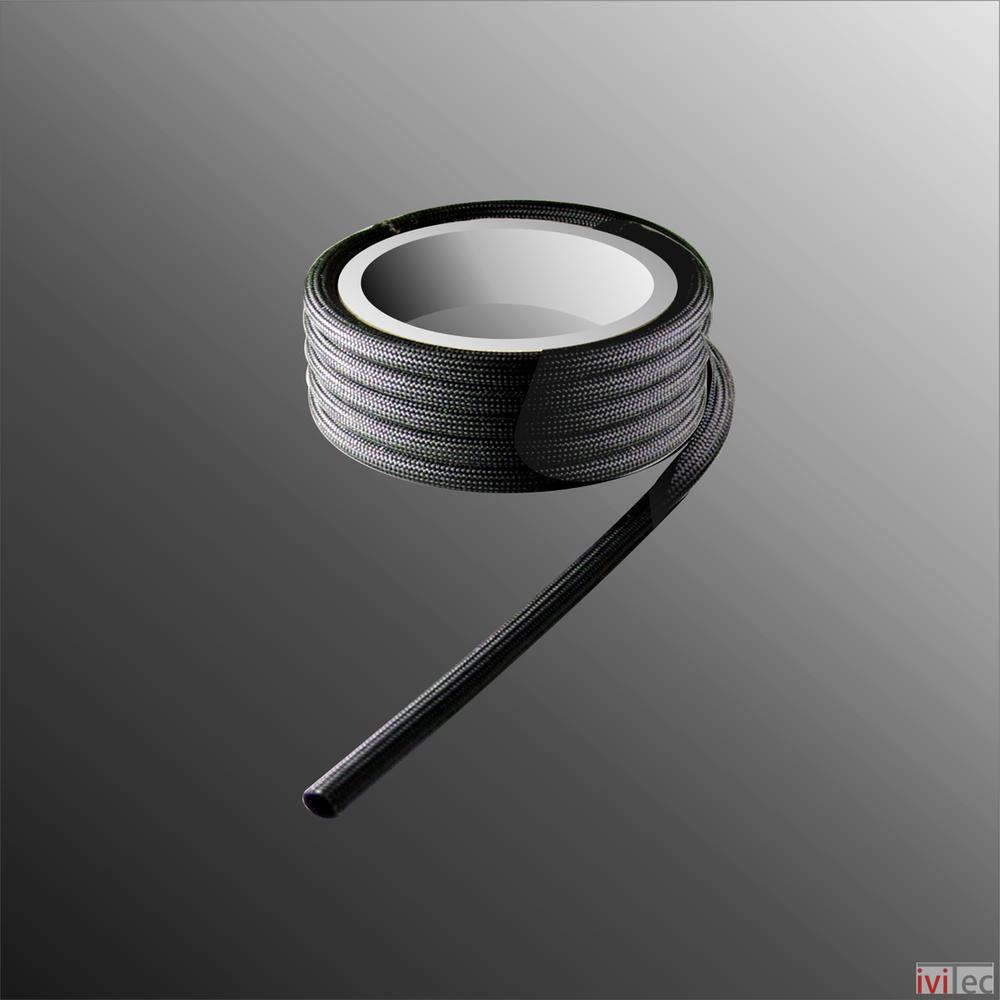 Glasfaser Schlauch acryl impregniert temperaturbeständig 250°C 1kV ...
